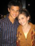 Alyson Stoner and Taylor Lautner