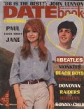 Jane Asher, Paul McCartney on the cover of Datebook (United States) - December 1967