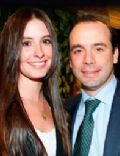 Taliana Vargas and Alejandro Eder