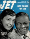 Nat 'King' Cole on the cover of Jet (United States) - January 1952