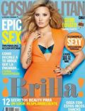 Demi Lovato on the cover of Cosmopolitan (Chile) - August 2013