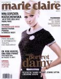 Malgorzata Kozuchowska on the cover of Marie Claire (Poland) - December 2005