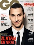 Zlatan Ibrahimovic on the cover of Gq (France) - December 2013