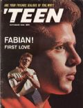 Fabian on the cover of Teen (United States) - October 1961