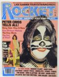 Peter Criss on the cover of Rocket (United States) - September 1978
