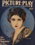 Henry Clive, Henry Clive, Nita Naldi on the cover of Picture Play (United States) - August 1923