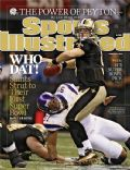 Drew Brees on the cover of Sports Illustrated (United States) - February 2010