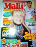 Carlos Massa, Marcos Palmeira, Xuxa Meneghel on the cover of Malu (Brazil) - December 2003