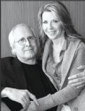 Chevy Chase and Jaynie Luke