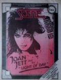 Joan Jett on the cover of Scene (United States) - January 1987