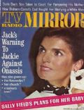 Jacqueline Kennedy on the cover of TV Radio Mirror (United States) - January 1969