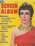 Elizabeth Taylor on the cover of Screen Album (United States) - October 1962