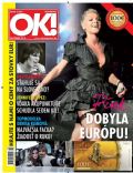 Pink on the cover of Ok (Slovenia) - October 2010