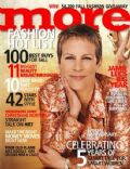 Jamie Lee Curtis on the cover of More (United States) - September 2003
