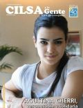 Agustina Cherri on the cover of Cilsa Y La Gente (Argentina) - February 2008