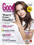 Angelina Jolie on the cover of Good Housekeeping (Philippines) - August 2013