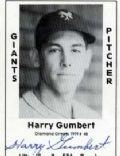 Harry Gumbert