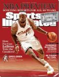 LeBron James on the cover of Sports Illustrated (United States) - October 2008