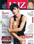 Agustina Cherri on the cover of Luz (Argentina) - January 2014