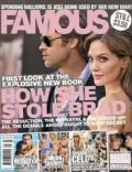 Angelina Jolie, Angelina Jolie and Brad Pitt, Brad Pitt on the cover of Famous (Australia) - July 2010