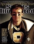 Drew Brees on the cover of Sports Illustrated (United States) - December 2010