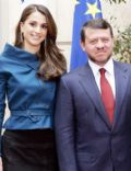 Abdullah II King Of Jordan and Queen Rania