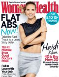 Heidi Klum on the cover of Womens Health (United States) - March 2014