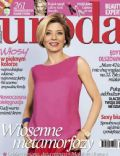 Edyta Olszówka on the cover of Uroda (Poland) - April 2014