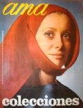 Catherine Deneuve on the cover of Ama (Spain) - January 1969