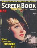 Anna Sten on the cover of Screen Book (United States) - October 1934