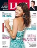Karina Mazzocco on the cover of Luz (Argentina) - April 2008