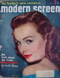 Jeanne Crain on the cover of Modern Screen (United States) - May 1951