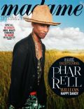 Pharrell Williams on the cover of Madame Figaro (France) - April 2014