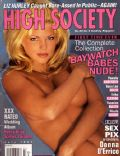 Donna D'Errico on the cover of High Society (United States) - July 1997