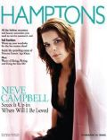 Neve Campbell on the cover of Hamptons (United States) - September 2004