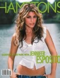 Jennifer Esposito, Molly Sims on the cover of Hamptons (United States) - August 2002