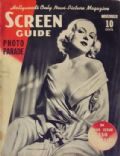 Carole Lombard on the cover of Screen Guide (United States) - November 1937