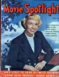 Doris Day on the cover of Movie Spotlight (United States) - May 1952