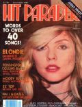 Deborah Harry on the cover of Hit Parader (United States) - December 1981
