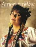Linda Ronstadt on the cover of American Way (United States) - April 1988
