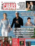Cristiano Ronaldo, Irina Shayk on the cover of Caras (Portugal) - June 2010