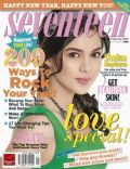 Shaina Magdayao on the cover of Seventeen (Philippines) - January 2009