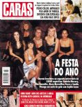 Angélica, Jean-Claude Van Damme, Xuxa Meneghel on the cover of Caras (Brazil) - December 1994