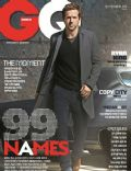 Ryan Reynolds on the cover of Gq (North Korea) - September 2013