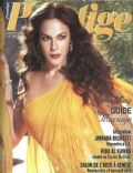 Amanda Righetti on the cover of Prestige (United States) - April 2009