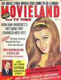Ann-Margret on the cover of Movieland (United States) - July 1966