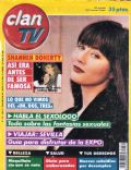 Shannen Doherty on the cover of Clan TV (Spain) - April 1992