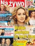 Malgorzata Socha on the cover of Na Ywo (Poland) - December 2012