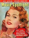 Rita Hayworth on the cover of Movie Spotlight (United States) - December 1952