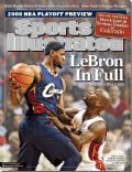 LeBron James on the cover of Sports Illustrated (United States) - April 2006